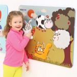 Childrens Wallboard Animal Textures
